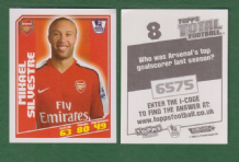 Arsenal Mikael Silvestre France 8